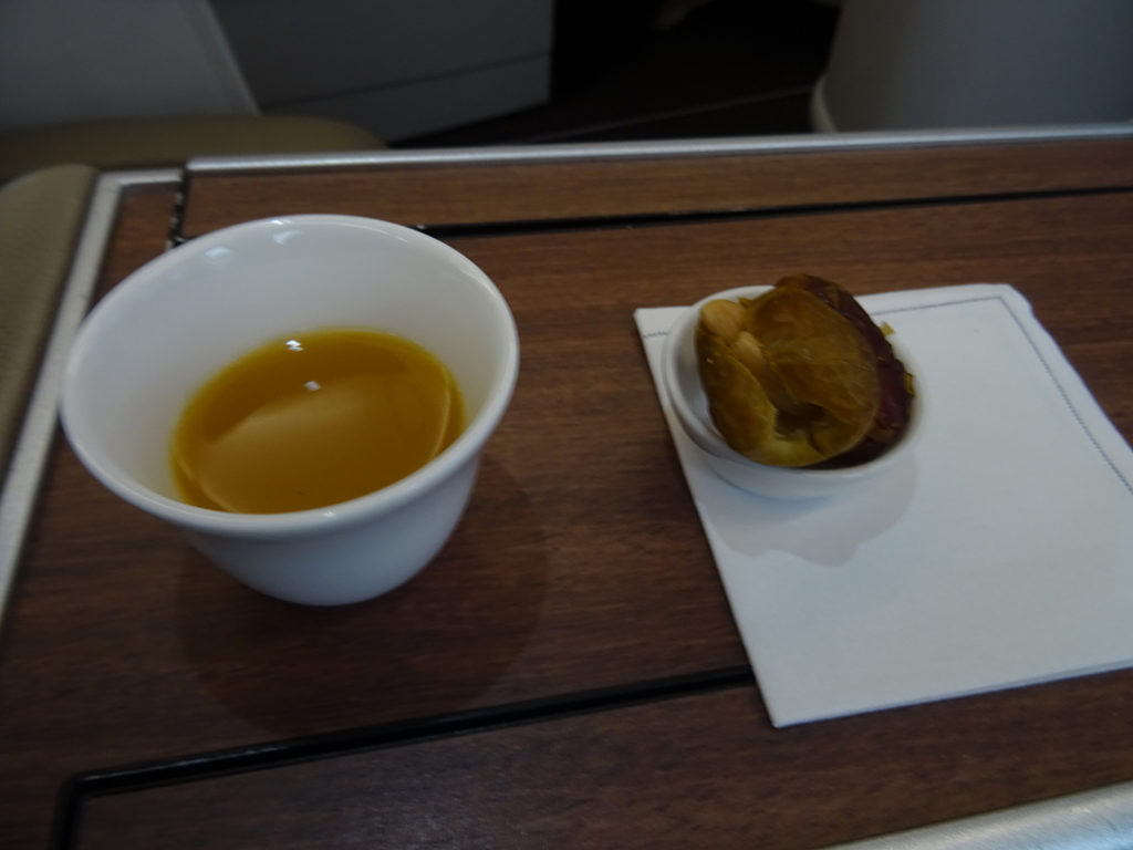 SV256 | Pre-Departure Snack