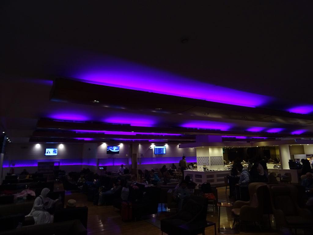 Saudia Alfursan Business Lounge in Jeddah