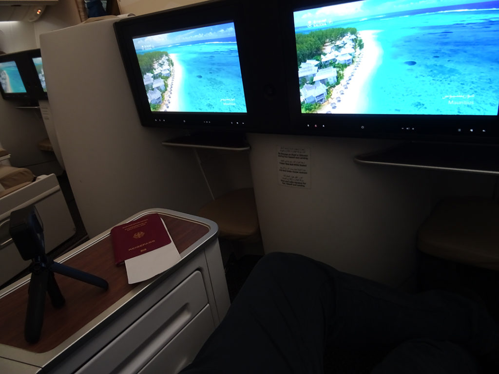 SV870 | Blick vom Sitz 3L