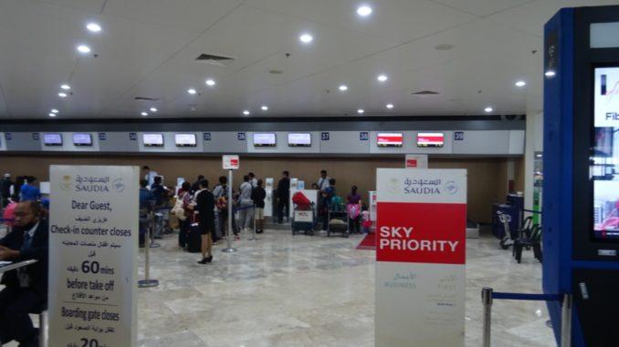 SV871 | Check-In in Manila