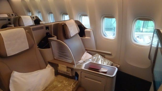 SV871 | Business Class Sitz