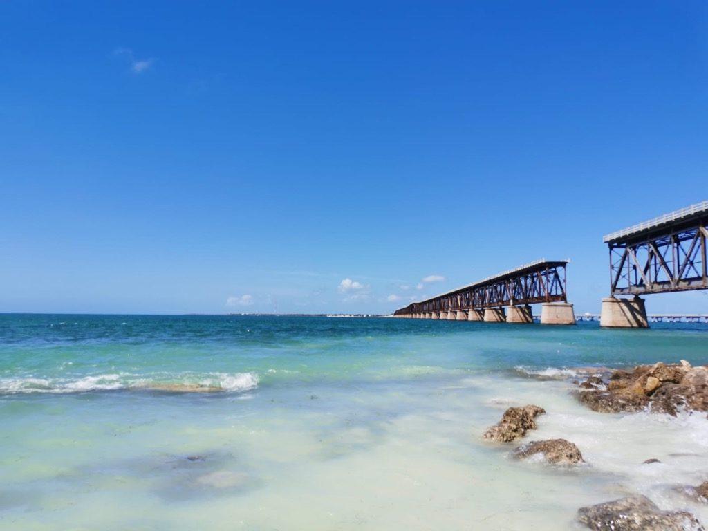 Strand an einem Meer - Bahia Honda State Park