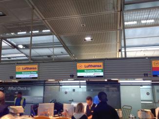 LH, Check-In Frankfurt