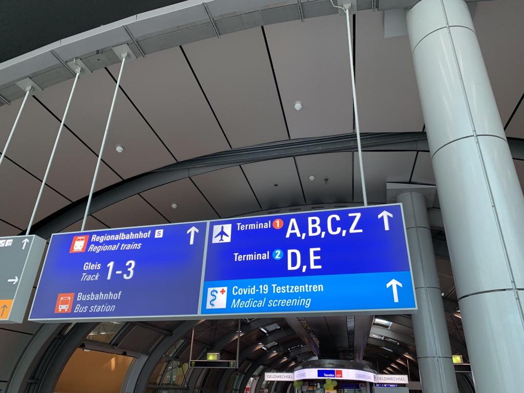 Corona Test Frankfurt Flughafen