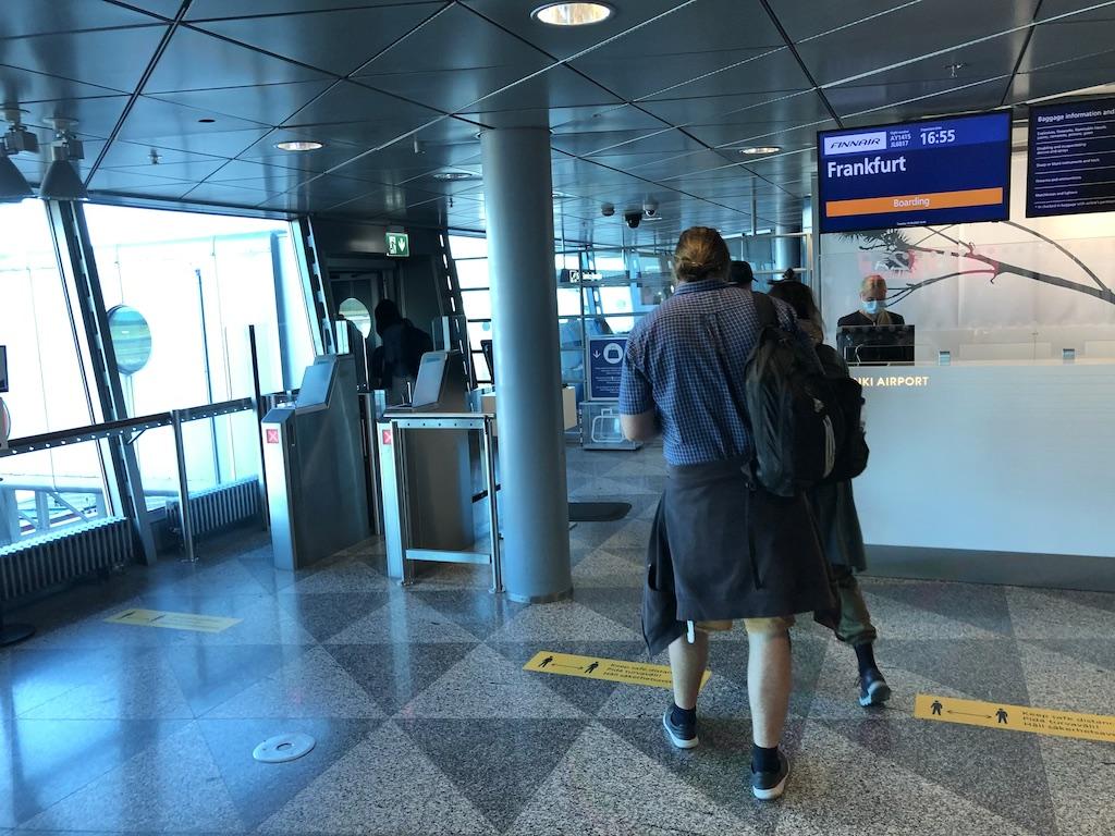 Flug Helsinki Frankfurt