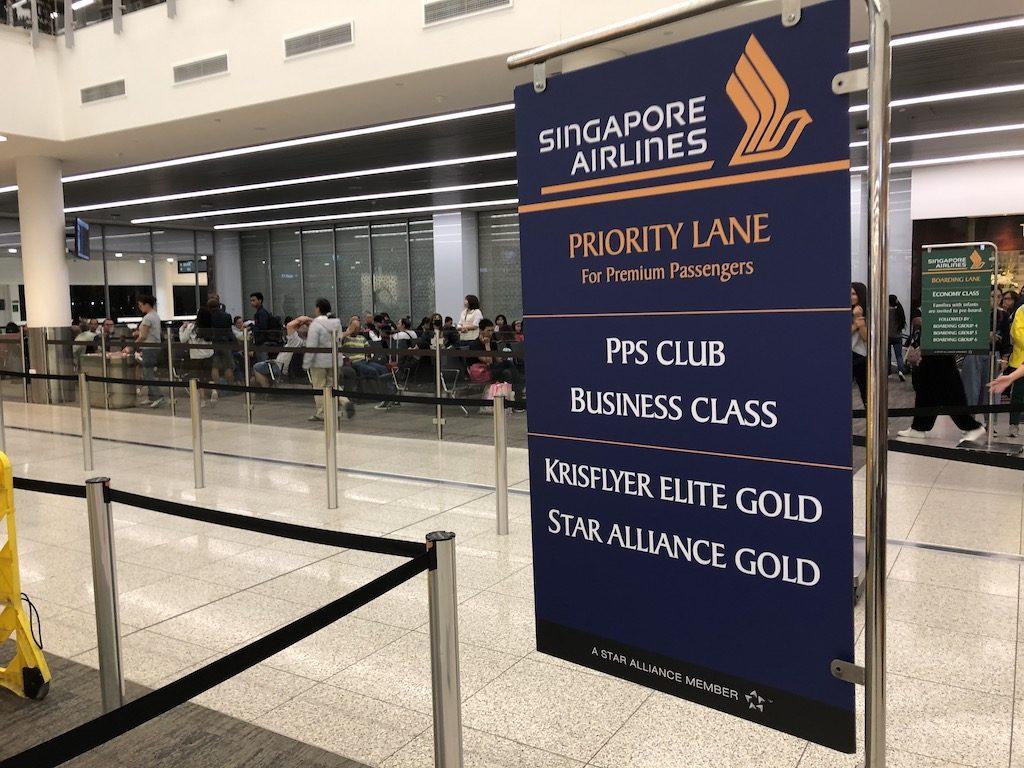 Ankunft Singapur Airlines Frankfurt