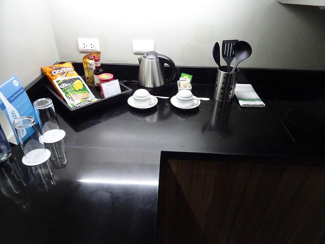 Küche - The Sphere Serviced Residences   Makati, Philippinen