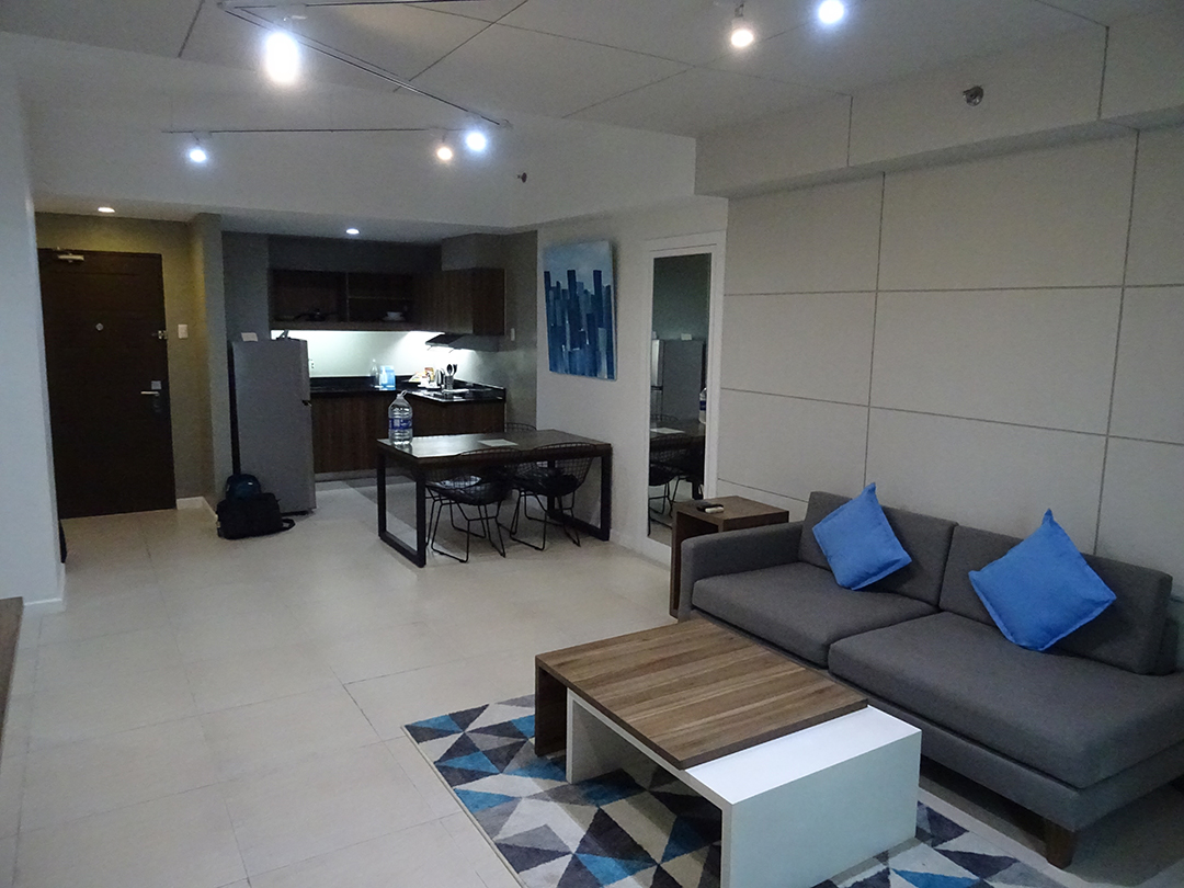 Zimmer - The Sphere Serviced Residences | Makati, Philippinen