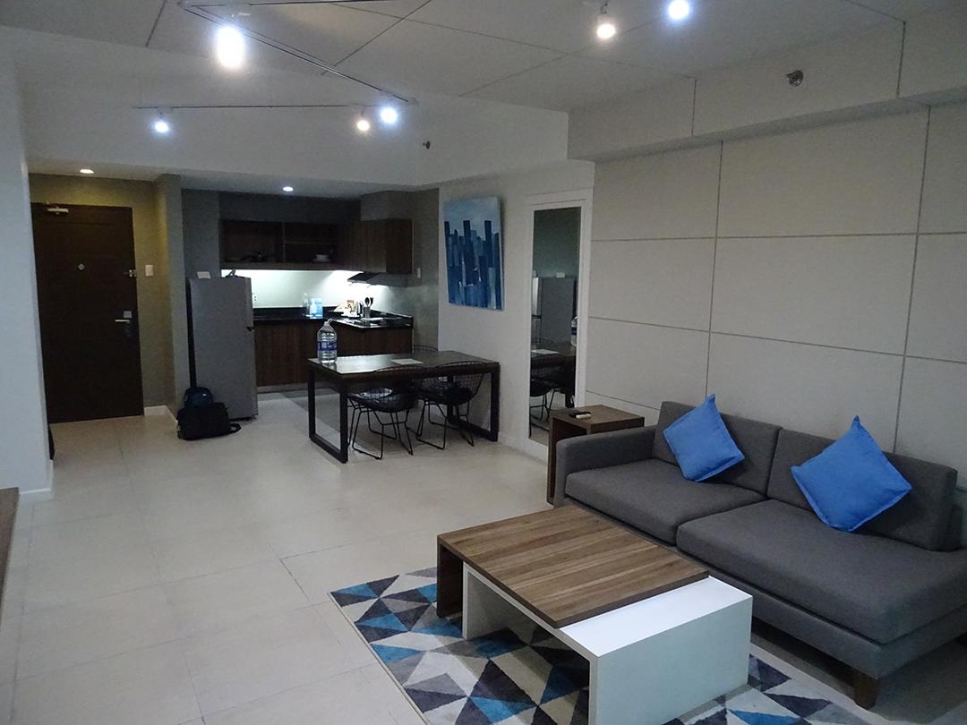 Zimmer - The Sphere Serviced Residences   Makati, Philippinen