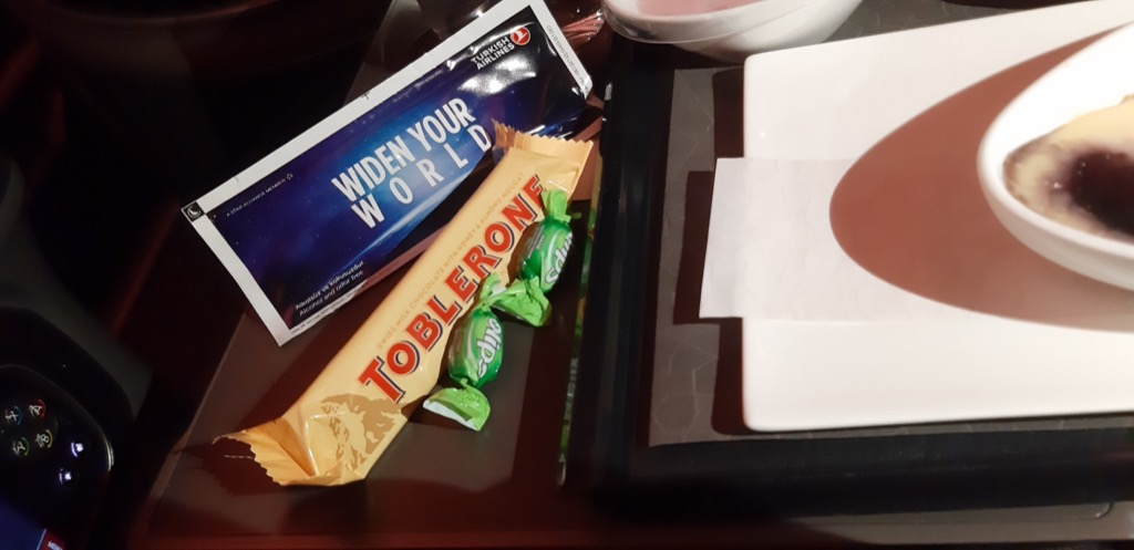 Turkish Airlines Business Class A350 | Snack